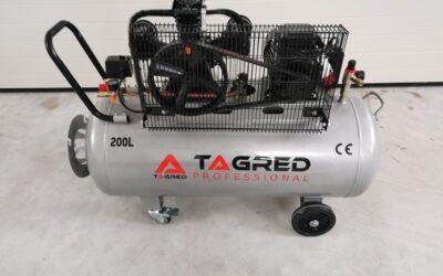 Vzduchový kompresor olejový 200L -400V TAGRED NW TA309