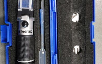 Refraktometr pro měření provozní kapaliny TA1390 TAGRED