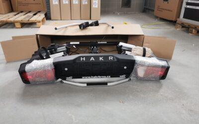 Nosič na kola tažné zařízení HAKR Trip2+1 TOP Plus