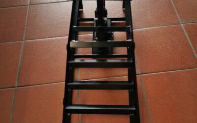 Nájezdová rampa s hydraulickým zvedákem 2ks Q-TECH