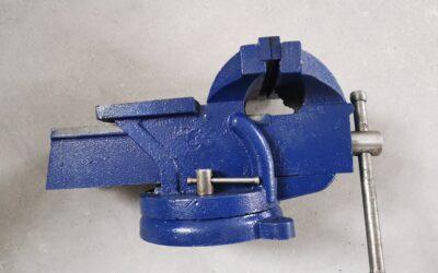 Zámečnický svěrák 150mm, otočný, nový Vorel 36039